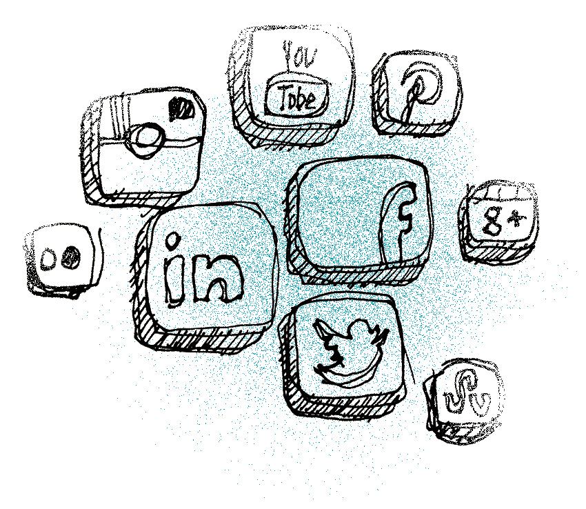 social ikoner